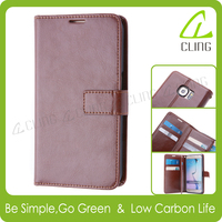 Accessories for apple iphone 6s leather case cover with card slots for iphone 6s wallet