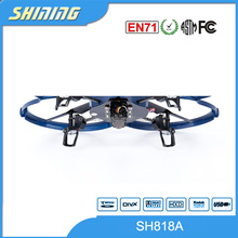Hot Selling 2.4Ghz big 4 Channel 6 AXIS Light Aircraft RC model UFO U818A UFO RC Flying Drone