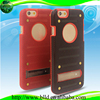 New Design for iPhone 6 Luxury heat radiation mesh PC Cell Phone Case with Stand