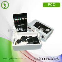 Electronic cigarette battery bank&atomizer kit pcc series f quick disconnect