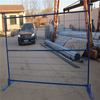 4mm pvc coated Temporary fence