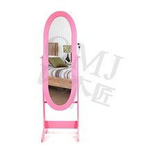 Heritage makeup organizer jewelry armoire stand up travel cheval mirror