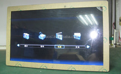"""16:9 full function clock auto player media loop 23"""" digital picture frame"""