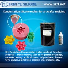Silicone rubber for complicated undercuts & fine arts molds ,plaster