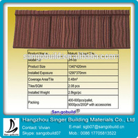 Alibaba Chinese Brand SGB high quality roof tile sheet metal price