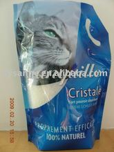1-8mm white/blue/pink 3.8L crystal silica gel cat sands