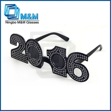 Black Funny Sun Glasses For Party With Diamand