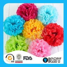 Fashion Colorful Pom Poms Crafts For Party Supplies
