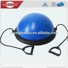 2014 balance ball ball ball bosu 55cm bosu balle ballon d'exercice pour les sports
