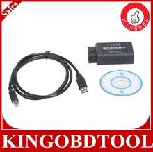 2015 Hot Sales OBD/OBDII Scanner ELM 327 car diagnostic interface scan tool elm327 usb+elm327 wifi version 1.5a with best price