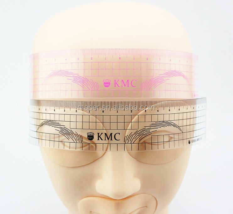Microblading Eye Brow Makeup Guide Eyebrow Stencilspermanent Makeup