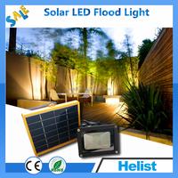 LED Outdoor Solar Powered Digital Flood Security Lights with Motion Sensor