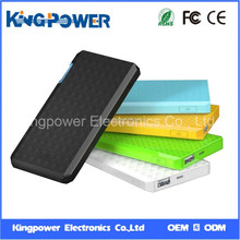 Power bank Ultrathin Mobile Power Bank with 5000mAh Real Capacity for Smart Phone or iPad