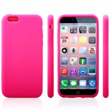 2015 popular mobile phone case silicone phone cover for iphone 6