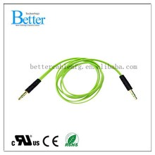 Newest hot selling wholesale blue fiber optic audio cable