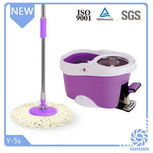PP Mop Head Material and long handle Type Microfiber Magic spin Mop