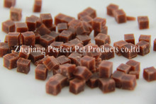 natural dog snacks(dental dog food squared shaped pieces)