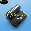 Excellent quality 3 buttons modified car remote control cover for flip key toyota