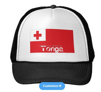 Wholesale custom promotional sports cap baseball hat,custom baseball cap with Tonga flag