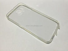 Crystal Clear PC+TPU Case with Pluggy for Samsung Galaxy S6 PC+TPU Case