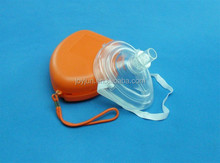 High quality CPR pocket small mask with One Way valve