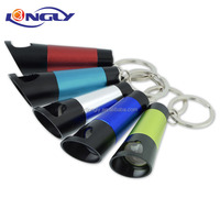 Key chains with LED Aluminum and bottle opener
