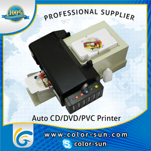 Digital Auto desktop inkjet CD/DVD/PVC card printer for Epson R330 with 50pcs feeding