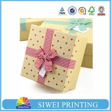 2015 Printed Velvet Packaging Paper wardrobe paper box for gift