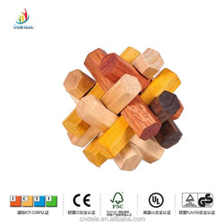 nature wood color high quality yiwu child toy wooden puzzle educational toy