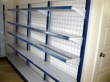 Back Mesh Supermarket Shelf