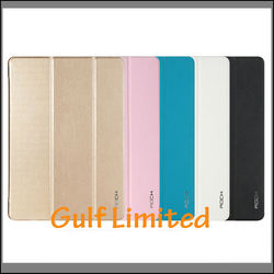 Original Rock Ultra thin Leather Smart Cover Magnetic Case for iPad Air 2