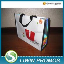 Promotion use Laminated non woven shopping bag