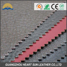 raw material pvc leather to cover seats for barber, upholstery leather