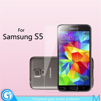Clear 0.33mm Tempered Glass for Cell Phone Samsung Galaxy S5