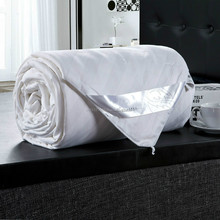 5 star luxury used hotel white Mulberry silk quilt/comforter sets (Fill 2 kg)