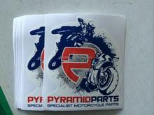 custom sticker printing motocycle logo labels private car sticker