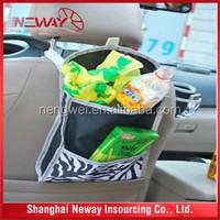 Back seat car stocking pocket /hanging car organizer