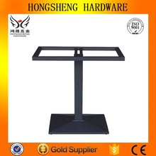 Cast iron garden furniture wrought iron table bases for glass table tops