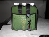 neoprene 6pack bottle cooler bag with handle
