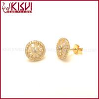 bead jewelry wholesale surgical silver joyas 18ct white gold diamond earring
