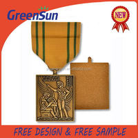 China supplier contemporary award gold medals