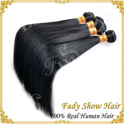 Wholesale unprocessed virgin remy silky straight brazilian hair bundles