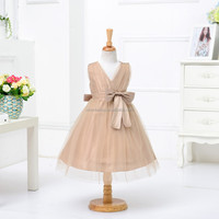 new fashion children baby girls dresses sleeveless girl party dress for dance wedding party with high quality