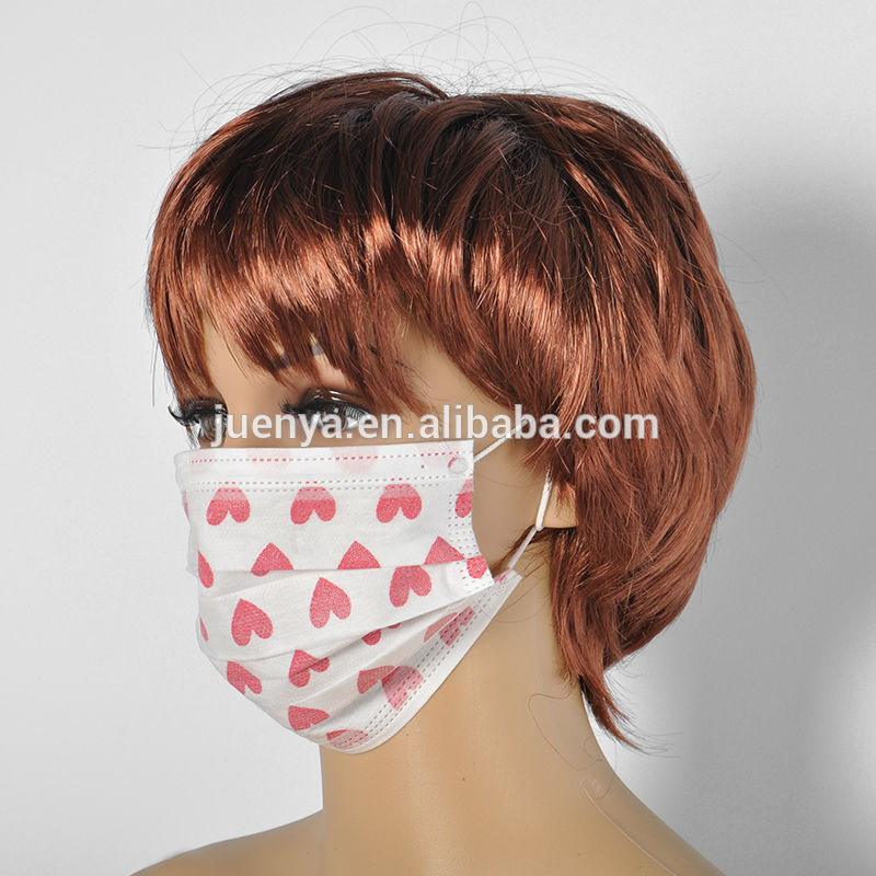 Face Mask Cartoon Spa Cartoon Printed Face Mask