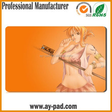 AY Popular Japanese Anime Girl NAMI of One Piece Sublimation Rubber Playmat MTG Magic the Gathering Card Playmat