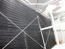 China closed cooling tower air inlet louvers, Various Cooling tower drift eliminator price