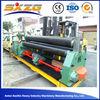 3 roller plate bending machine, mild carbon steel rolling machine, stainless steel rolling machine