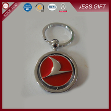 Promotional key chain rings with metal material