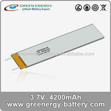 4200mah 3.7V 8235135 the cell phone and bilitong mobile battery made of china manufacturer