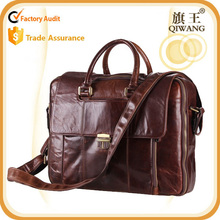 New fashion hot sale vintage man leather document laptop bag